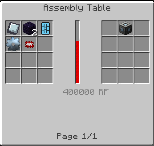 ftb machine frame