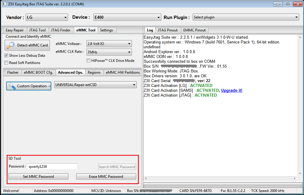 EasyJtag Release v2.2.0.1. Very big Update. Lot of phones and changes!!!