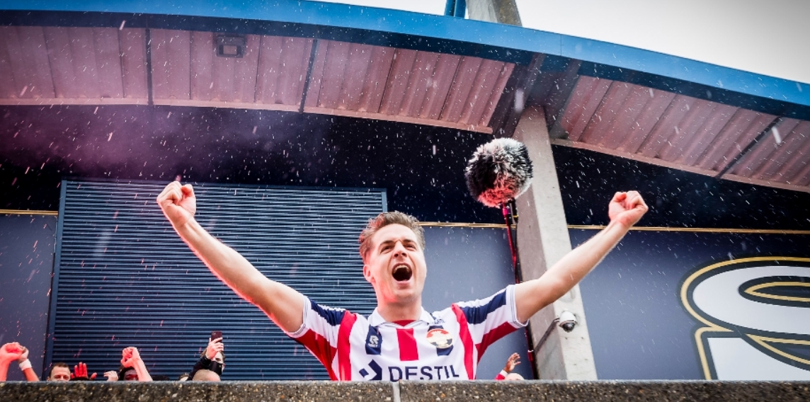 """""""The virtually very football-loving Netherlands thought I'd stick with Willem II"""""""