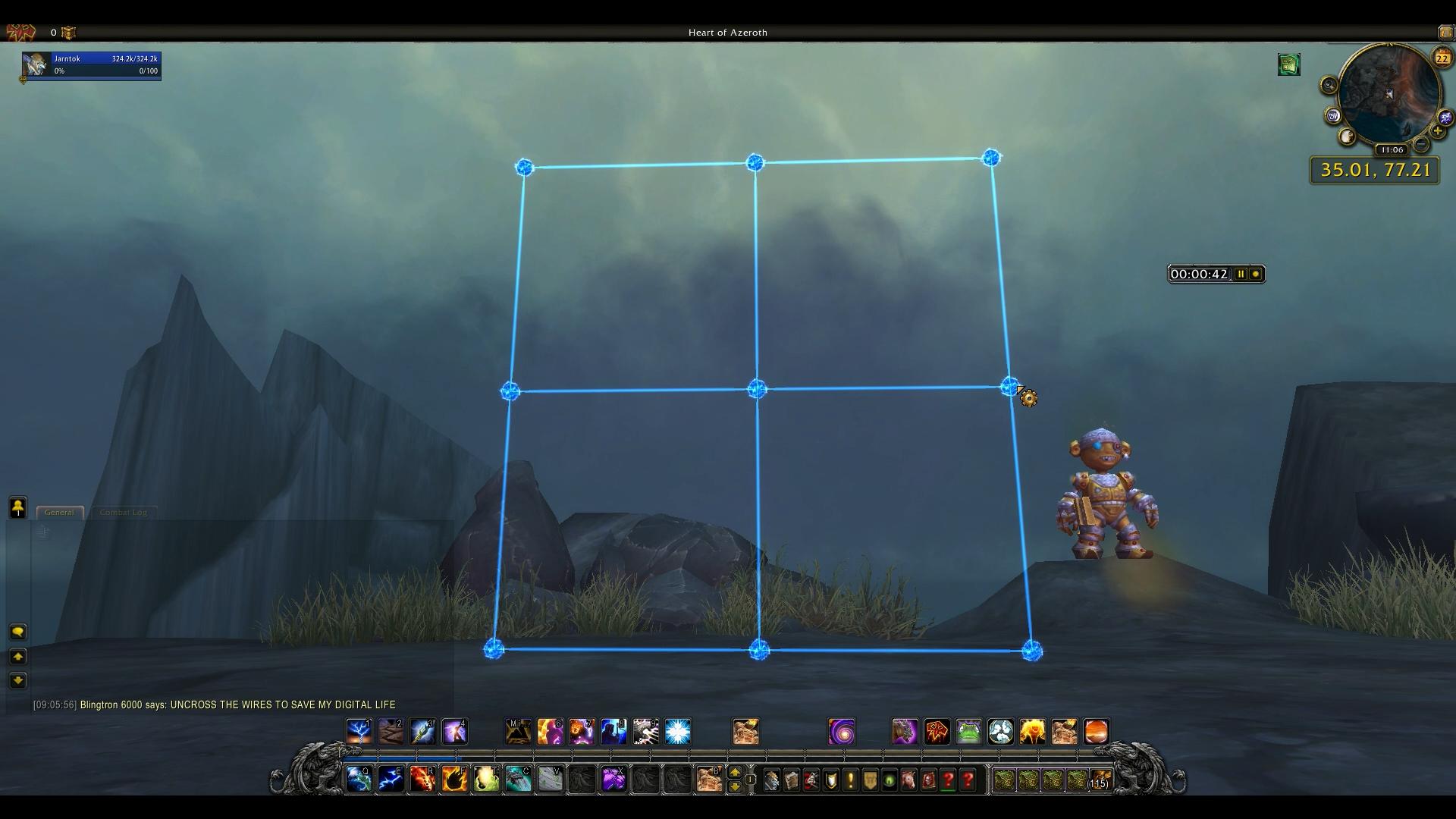 The Shortest Distance Achievement World Of Warcraft Hot Wiring Games 4 3x3 Square