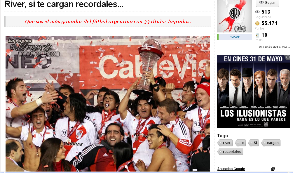Top post River y boca.