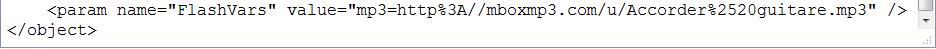 [résolu] - Comment faire apparaître un lecteur mp3 pour lire un fichier audio ? 60ca76b4c6ba07b81f2f41a974fa886f