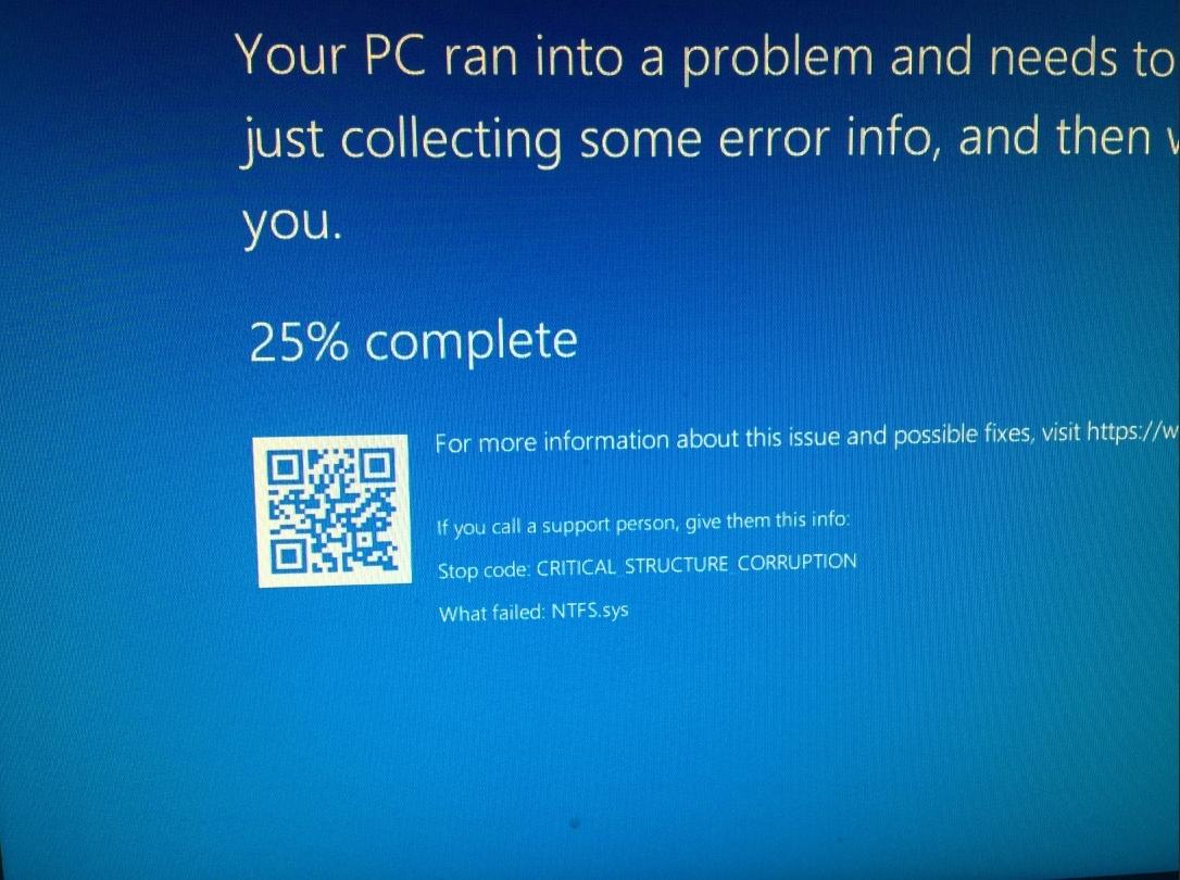 BSOD Critical_Structure_Corruption - Windows 10 Forums