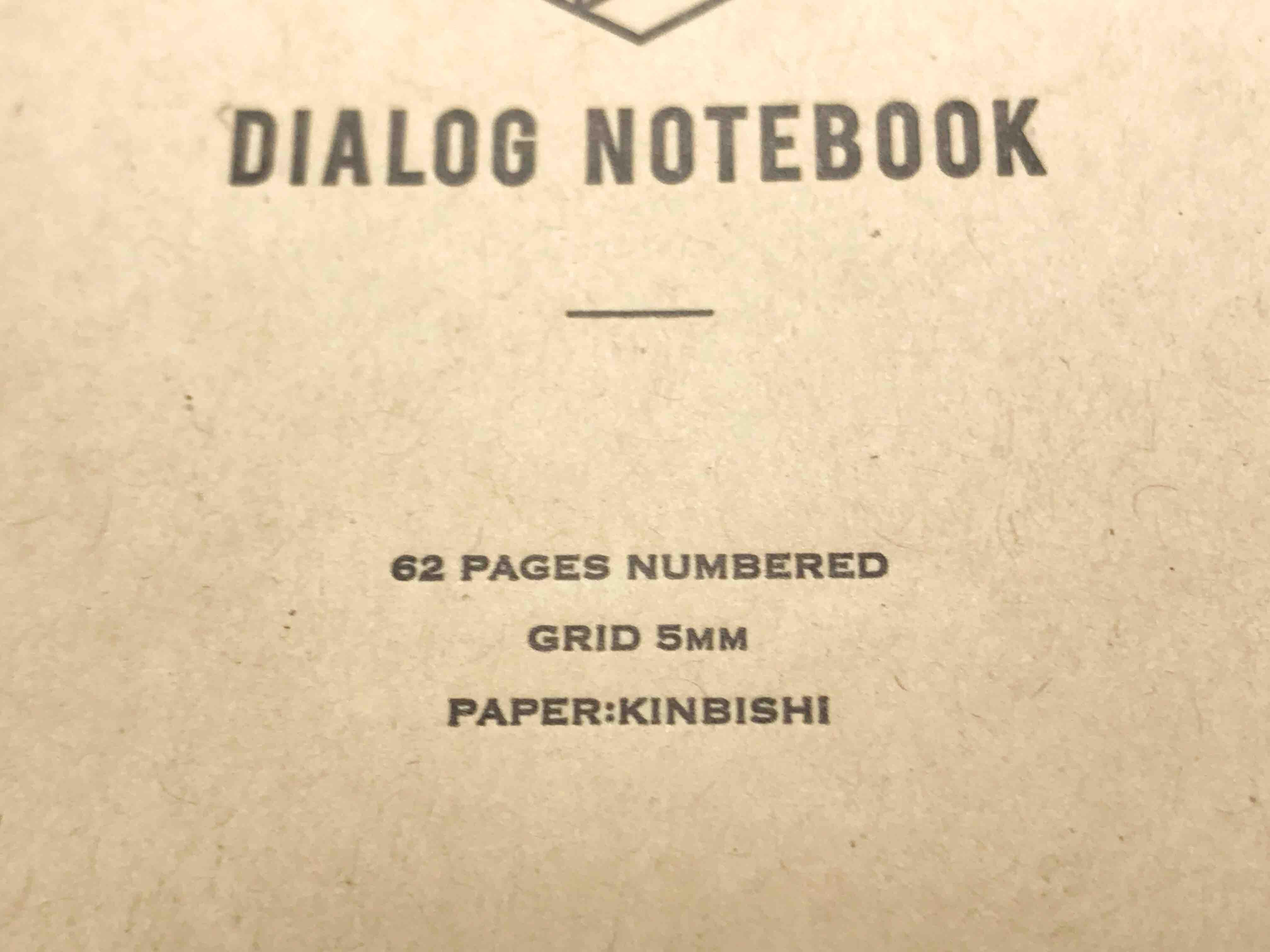 ダイアログノート活版印刷