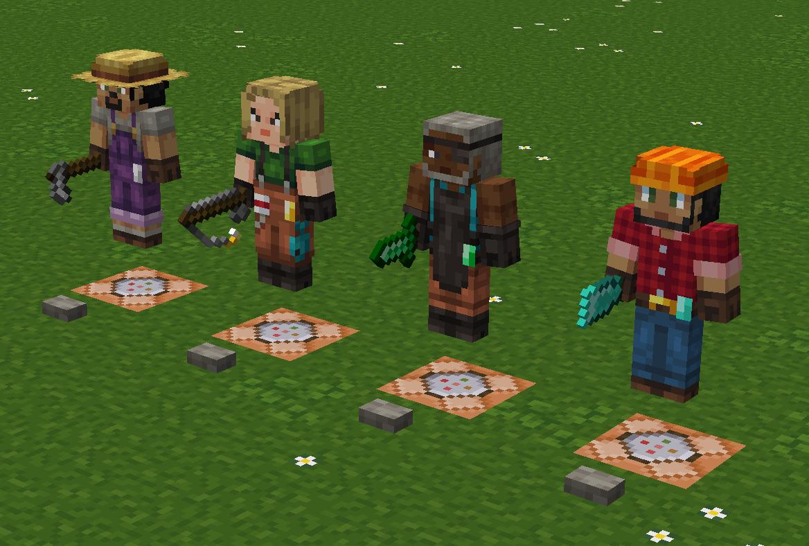 Player Villager Models - Resource Packs - Minecraft - CurseForge