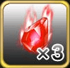 魔水晶 ×3