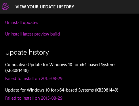 Can't install Windows 10 Delta updates - Windows 10 Forums