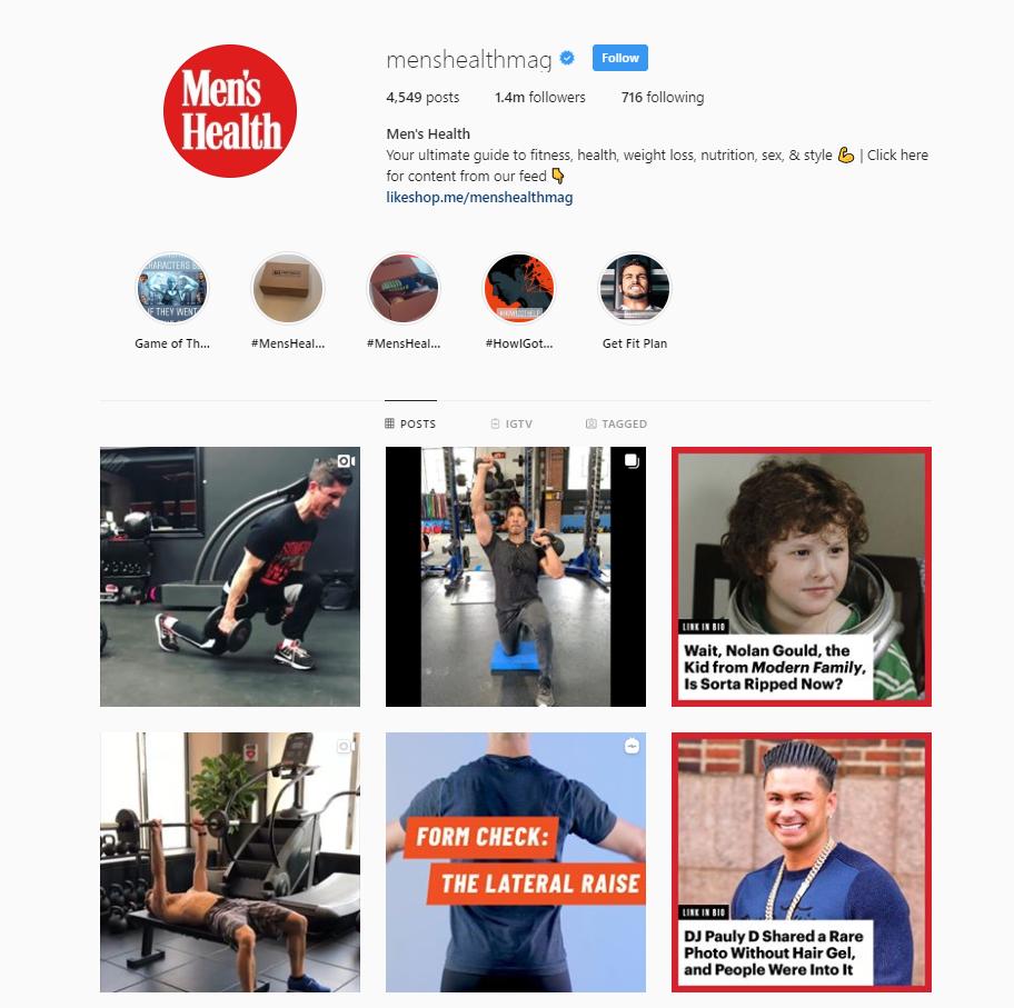 publishers on instagram
