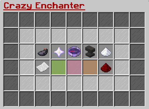 New Enchant Gui