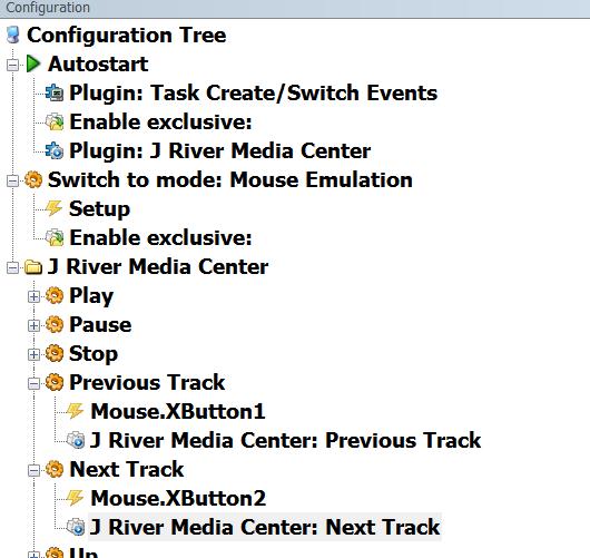 Noob Alert , Trying make Mouse Control Jriver - EventGhost