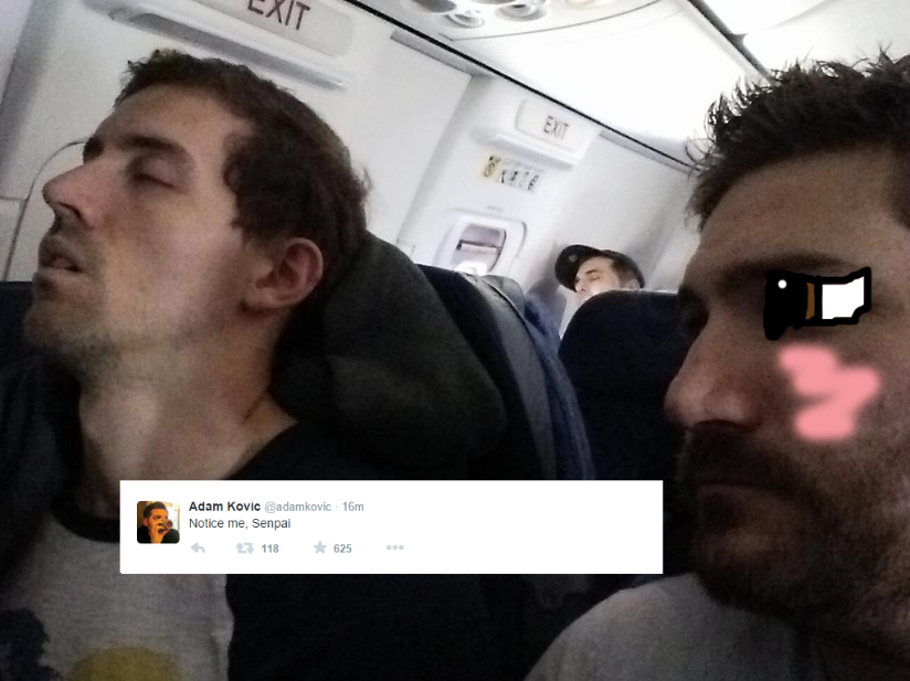 Adam made a tweet and I opened Photoshop and this happened  : funhaus