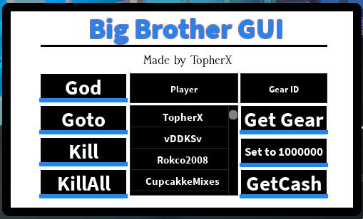 RELEASE]Big Brother v2 5 1 GUI