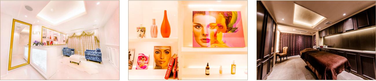 Total beauty salon LllL 店内