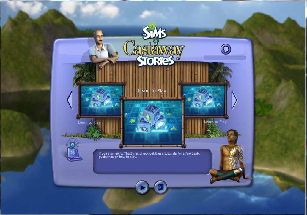 The Sims Castaway Stories Learn to Play bug? [SOLVED] 6acdca524be9ce8ce9acafb67e1f8965