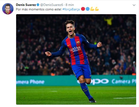 Denis Suárez, ejemplo a seguir 6b407422ea9c052bfe8b755da4b5c805