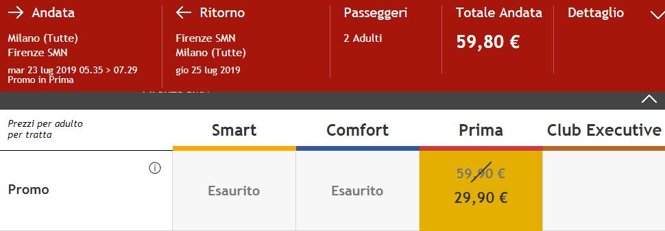 Promo Italo 2019