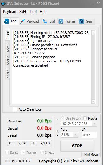 APORTE] Payload para SVL Injector  Internet Free sin saldo