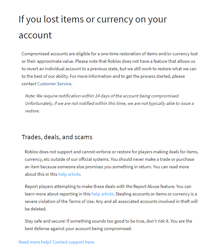 PSA: What to do if your account was hacked and/or you lost