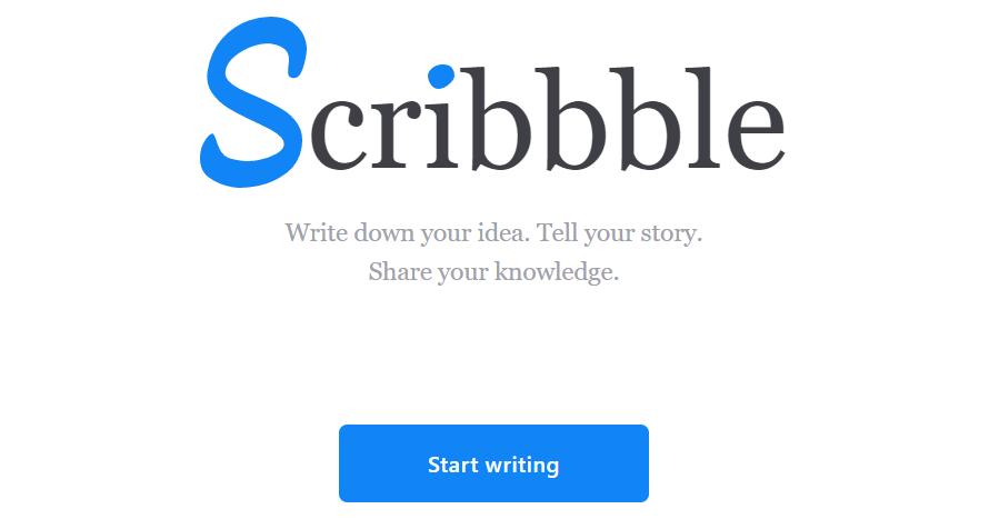 Scribbble