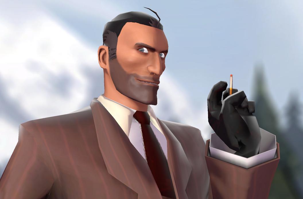 meet the maskless spy skin