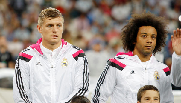 Image result for marcelo and kroos