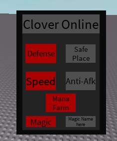 Release] Clover Online Gui/Script (OP) [UPDATE]