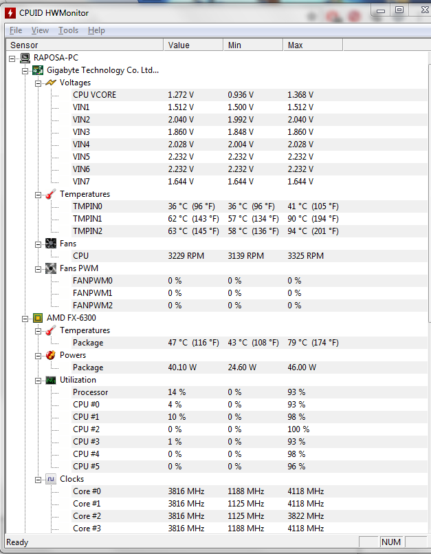 MY CPU's temp is topping 79C when gaming  I know something is wrong