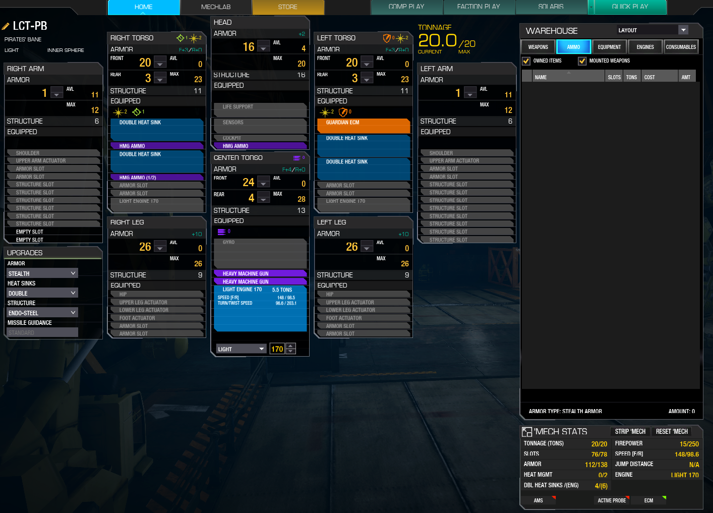 Mwo Forums Mwo Stealth Armor Builds