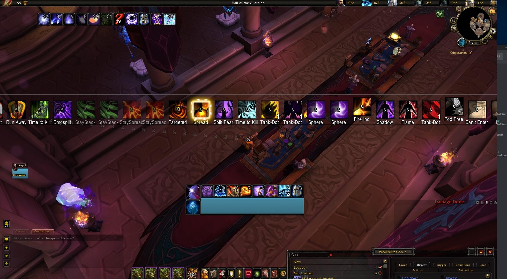 T23 Battle of Dazar'alor Auras (9/9 Bosses, all difficulties, both