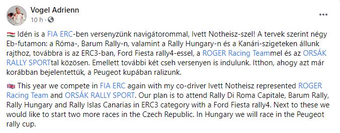 FIA European Rally Championship: Temporada 2021 - Página 3 7123aa14eca7d0965559ddedf849c188