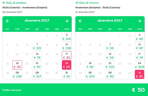 Offerte voli per amsterdam rotterdam e parigi da 25 for Offerte voli amsterdam