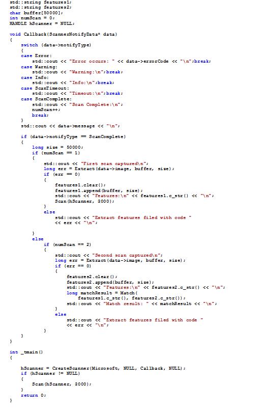 DevelopEx Fingerprint Reader SDK – DevelopEx blog
