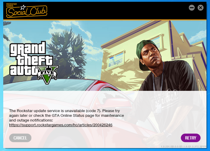 Solved - Can't Download Grand Theft Auto V | Se7enSins Gaming Community
