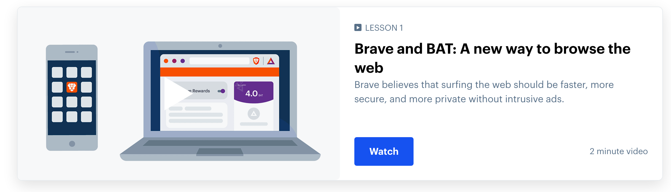 Coinbase: Start earning BAT by using the Brave browser, BAT