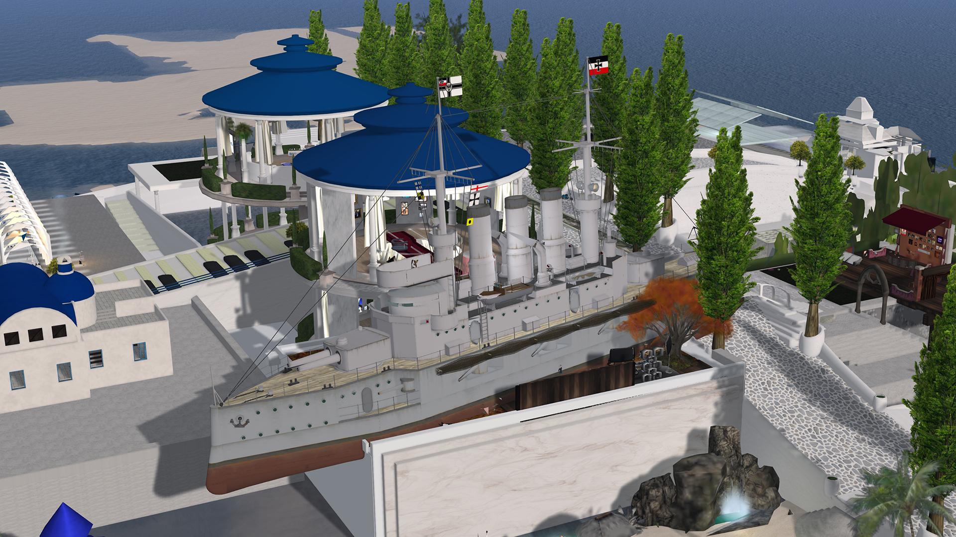 Cafeシンデレラ:シンデレラに巨大ホバークラフトと戦艦が衝突しま…エッ ...
