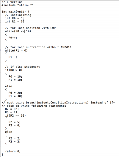 Solved: Please Convert This Code Into Assembly Language Fo
