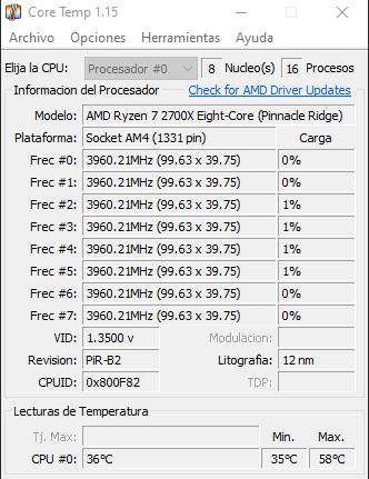 Corsair H100i RGB Platinum + Ryzen 7 2700X