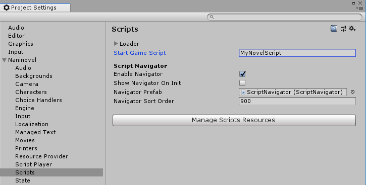 Start Script