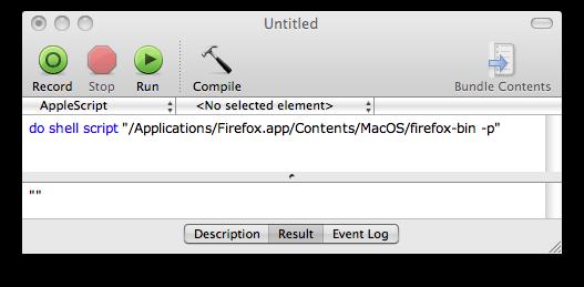 AppleScriptの例