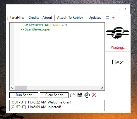 Script Executor Roblox Download 2020 Panahilix Unresticted Level 6 Script Executor Supports Dex Httpget Getmetatable Getobjects And More Wearedevs Forum