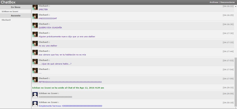 Revelaciones de Chat Box( ͡° ͜ʖ ͡°) - Página 4 78ec354d4907511b45e596c899d8adb3
