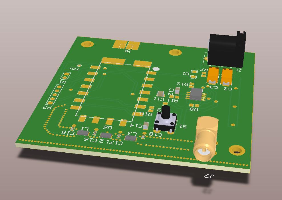 DRA818V PCB