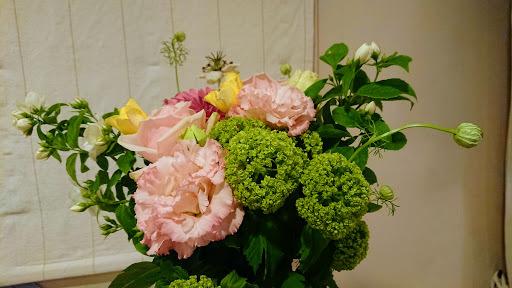 [写真]今年の花束