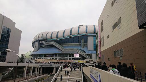 [写真]イオン側からみた大阪ドーム