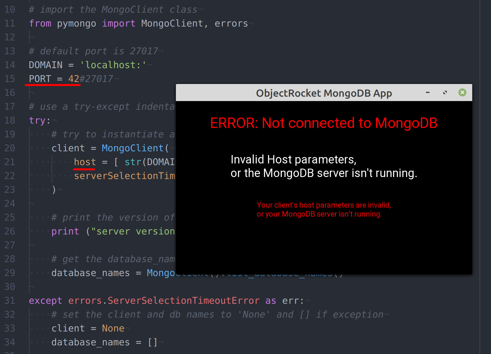 Build A MongoDB GUI App Using Kivy And Python (Part 1