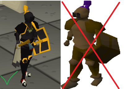 getting a runescape girlfriend with a beautiful rs armor