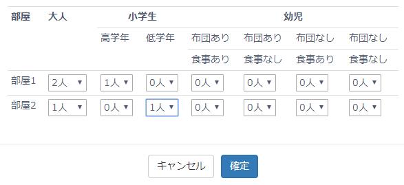 検索条件(詳細)