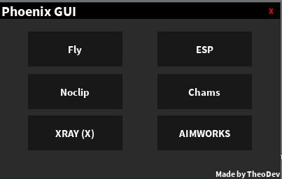 My Hack Roblox Hack Pf Xray Free Phantom Forces - Rel Phoenix Gui V2 Phantom Forces Gui