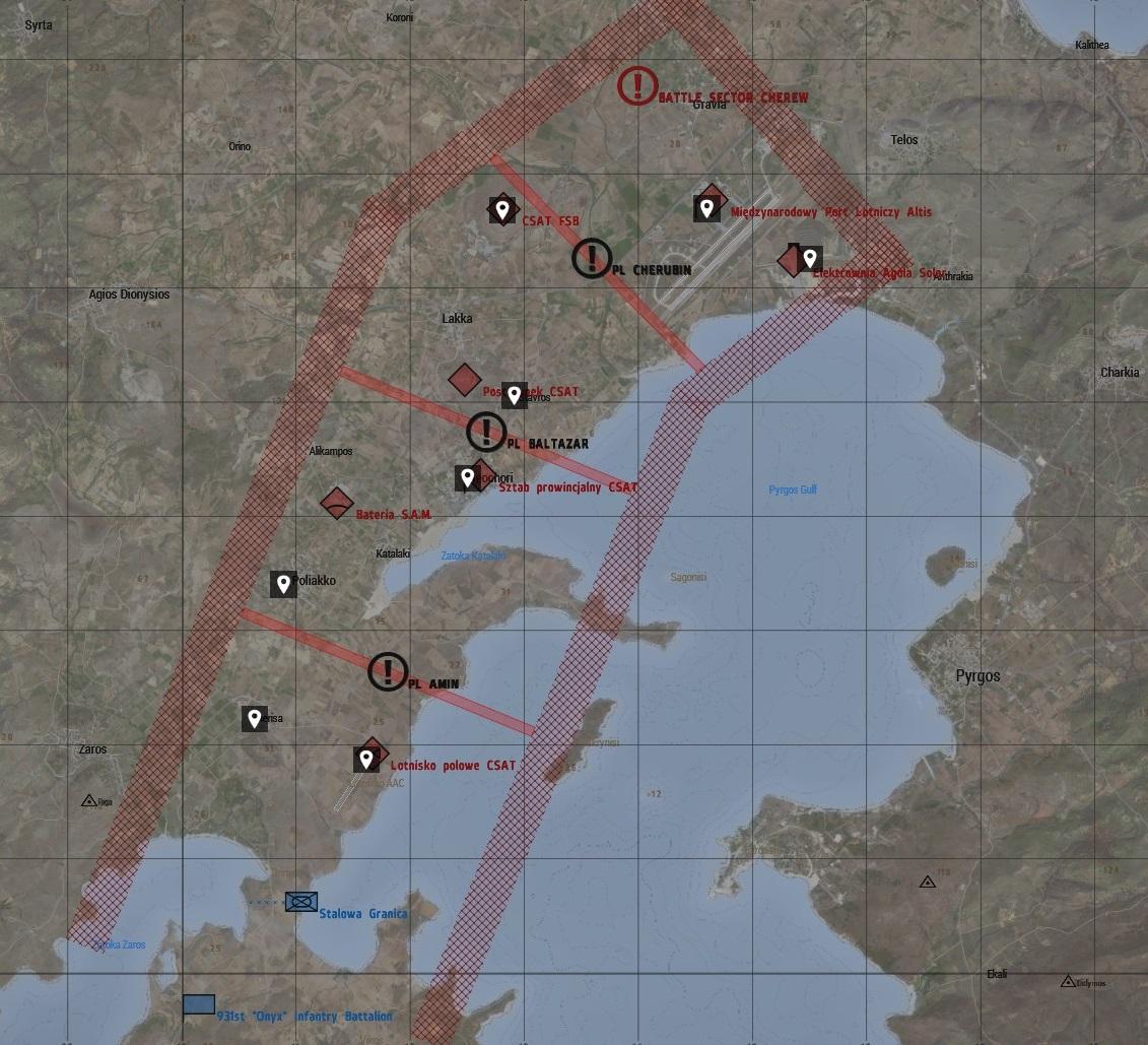 mapa taktyczna