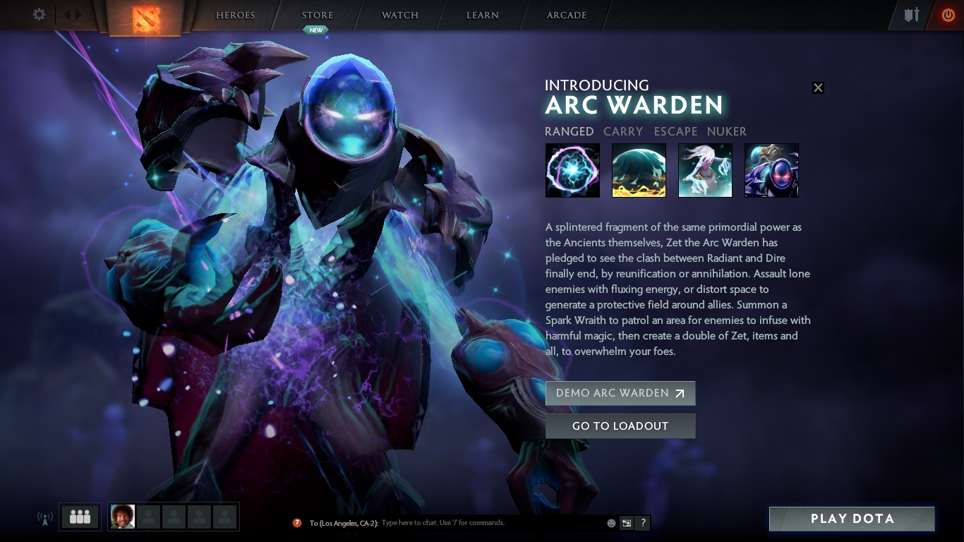 anyone else love how they introduce zet in the new client dota2